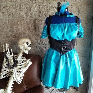 Saloon/Wild West Waitress Halloween Costume 🎃